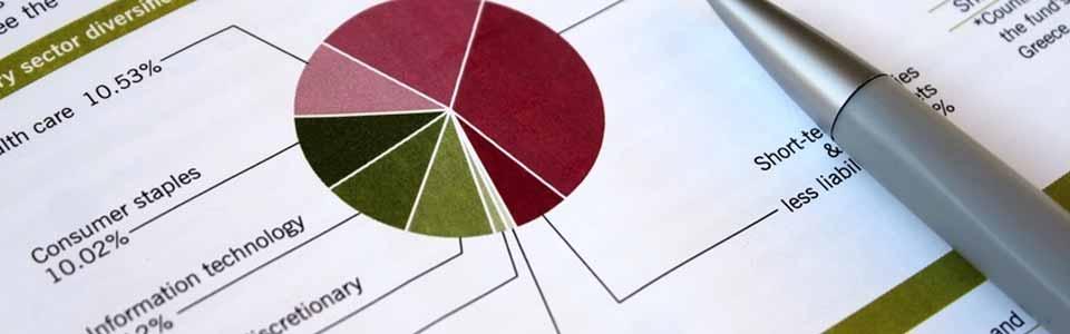 pie chart & pen