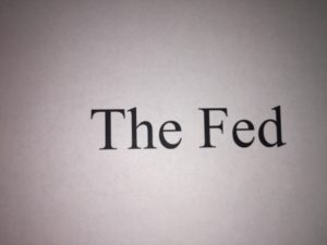 "graphic words ""The Fed"""