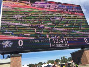 UNH Scoreboard